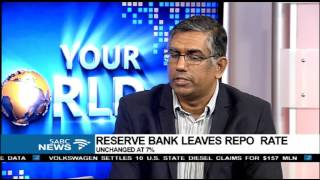 Download Viv Govender reacts to Reserve Bank's decision on interest rates Video
