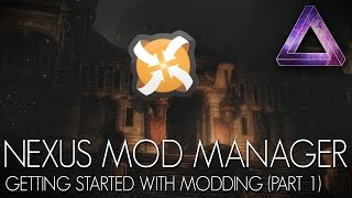Download Skyrim Special Edition Mods - Nexus Mod Manager | Getting Started With Modding (Part 1) Video