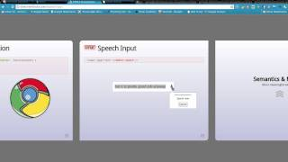Download google chrome speech to text demonstration Video