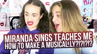 Download MIRANDA SINGS TEACHES ME HOW TO MAKE A MUSICAL.LY?!?!?!? Video