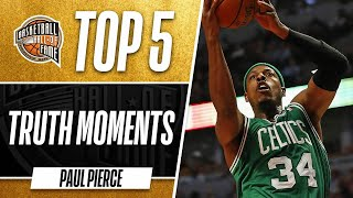 Download Paul Pierce's Top 5 Truth Moments | Boston Celtics Legend Video