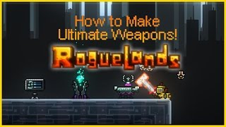 Download RogueLands: How to make Ultimate Weapons! [RUWS Extra #1] Video