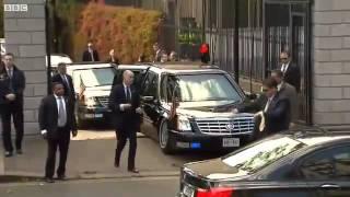Download Limosina Barack Obama se queda atascada viaje a irlanda - accidente Barack obama - Fail Video