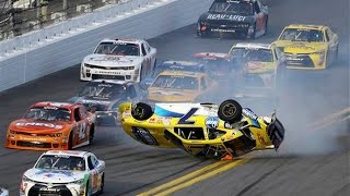 Download Nascar - Daytona Speedweeks 2015 - Crash Compilation (Original Sound - No Music) Video