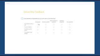 Download How to create a Matrix/Rating scale question with SurveyMonkey Video