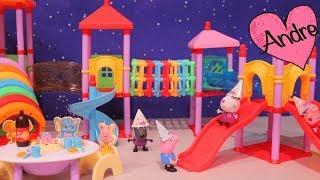 Download Peppa Pig hace fiesta de cumpleaños para George | Muñecas y juguetes con Andre para niñas y niños Video
