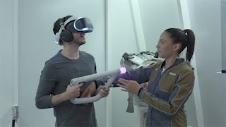 Download FIRST TIME ON PLAYSTATION VIRTUAL REALITY (FARPOINT FPS) Video