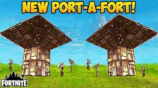 Download NEW 'PORT-A-FORT' BEST PLAYS! - Fortnite Funny Fails and WTF Moments! #162 (Daily Moments) Video
