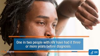 Download HIV Testing: Test Today. Don't Delay. Video