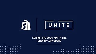 Download Marketing Your Shopify App in The Shopify App Store (Shopify Unite 2017) Video