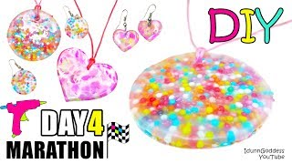 Download DIY Jewelry Out Of Hot Glue, Sprinkles And Acrylic Paint - DAY 4 of 7-Day Marathon Of Glue Gun DIYs Video