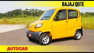 Download Bajaj Qute | First Drive Review | Autocar India Video