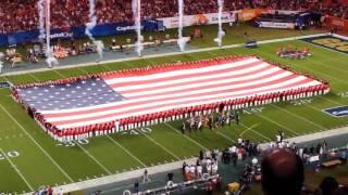 Download Christina Grimmie 2014 Orange Bowl National Anthem Video
