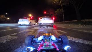 Download Driving my RC car at night in ISTANBUL traffic Video
