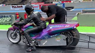 Download WHY THIS DRAG BIKE CLASS IS ONE OF THE MOST POPULAR WITH RACERS! FAST 4.60 MOTORCYCLE DRAG RACING Video