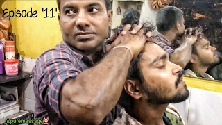 Download The Great Indian Head Massage and Upper Body Massage   Episodes-11   ASMR Video