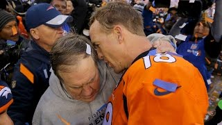Download Mic Catches Peyton Manning Telling Bill Belichick 'This Might Be My Last Rodeo' Video