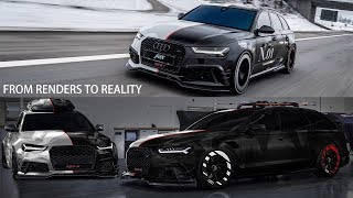 Download AUDI RS6+ ABT PHOENIX   My Project with Jon Olsson & ABT   From Renders to Reality Video