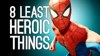 Download Spider-Man PS4: 8 Least Heroic Things You Can Do in Marvel's Spider-Man Video