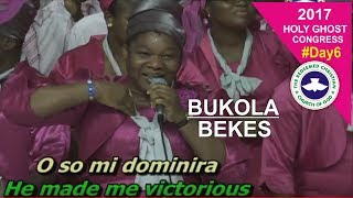 Download Bukola Bekes POWERFUL Ministration @ RCCG 2017 HOLY GHOST CONGRESS #Day6 Video