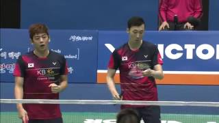 Download Victor Korea Open 2016 | Badminton F M2-MD | Lee/Yoo vs Li/Liu Video