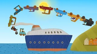 Download Машинки - Новый мультик для детей Катер - Лучшие серии Video
