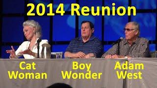 Download Holy Batman Original Cast Reunion Adam West, Burt Ward, Julie Newmar, Robin, Catwoman Video