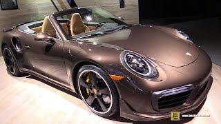 Download 2017 Porsche 911 Turbo S Convertible - Exterior and Interior Walkaround - 2016 LA Auto Show Video