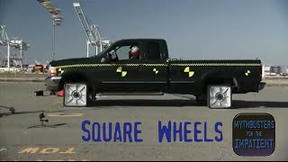 Download Square Wheels - Mythbusters for the Impatient Video