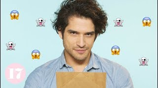Download Teen Wolf's Tyler Posey Dramatically Reads Scary Stories Video