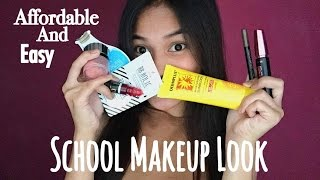 Download AFFORDABLE SCHOOL MAKEUP TUTORIAL ( EASY & GO-TO!) | Philippines Video