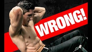 Download Top 5 WORST Ab Exercise Mistakes! Video