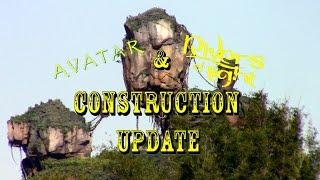 Download Disney's Animal Kingdom Construction Update 11.21.16 Avatar, ROL, Dinosaur + More! Video