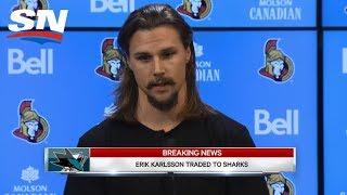 Download Erik Karlsson Traded To San Jose Sharks: FULL Press Conference Video