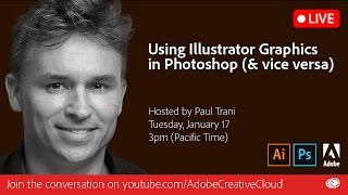 Download Using Illustrator Graphics in Photoshop | Adobe Creative Cloud Video