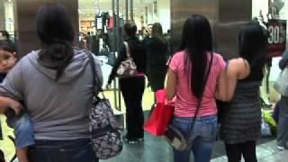 Download Black Friday Shoppers Flood McAllen's La Plaza Mall Video