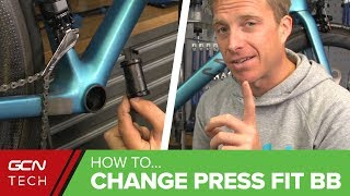 Download How To Remove And Install A Press Fit Bottom Bracket Video