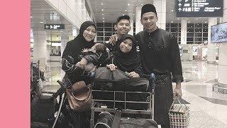 Download Meleleh air mata tengok Norman & Abby sambut anak balik Malaysia Video