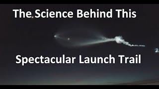 Download Explaining The Amazing Rocket Trail Over LA Video