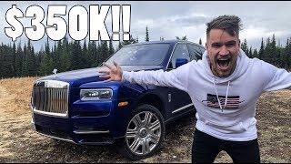 Download $350,000 ROLLS ROYCE CULLINAN ON SAFARI!! Video