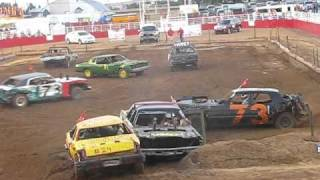 Download SPRINGDALE ARKANSAS DEMOLITION DERBY AUGUST 2010 HEAT 2 Video