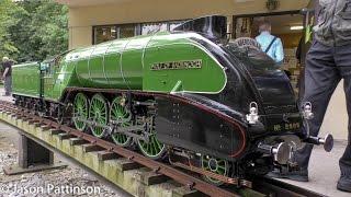 Download 5 inch Gauge LNER Class P2 2006 Wolf of Badenoch - Live Steam 2-8-2 Mikado Locomotive Video