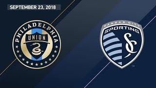 Download HIGHLIGHTS: Philadelphia Union vs. Sporting Kansas City | September 23, 2018 Video