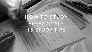 Download How To Study Effectively | 15 Study Tips Video