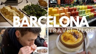 Download What to eat in Barcelona - Travel Vlog - Boqueria Market, Tapas, The Best Churros Video