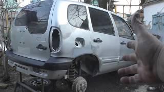 Download Chevrolet Niva, «Нива Шевроле» 7 часть. Самодельные ремонтные вставки задних крыльев . Video