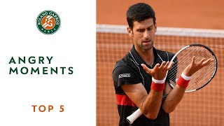 Download Angry Moments - TOP 5 | Roland Garros 2018 Video