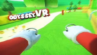 Download MARIO WALL JUMPS and DIVES in VR - with Walk-O-Motion - Odyssey VR Tech Demo Video
