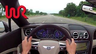 Download 2013 Bentley Continental GTC V8 - WR TV POV Test Drive Video