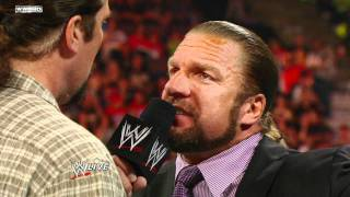 Download Raw - CM Punk tells Triple H and Kevin Nash of his suspicions Video